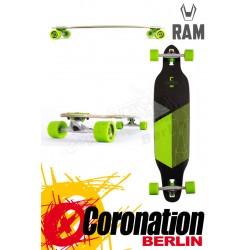 RAM Solitary 2.0 Limited Edition Komplett Longboard Grün