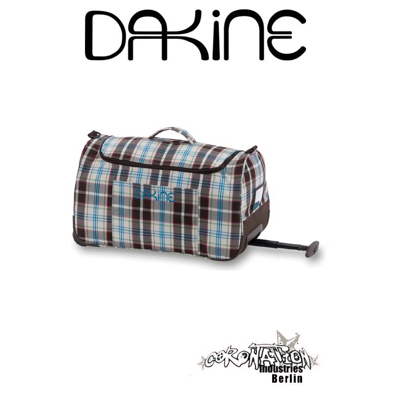 Dakine Wheeled EQ Bag Girls Reisetasche Clubhouseplaid