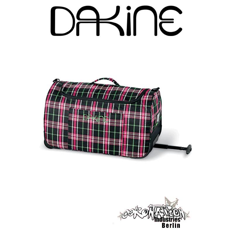 Dakine Reisetasche Wochenendtasche Pink Plaid