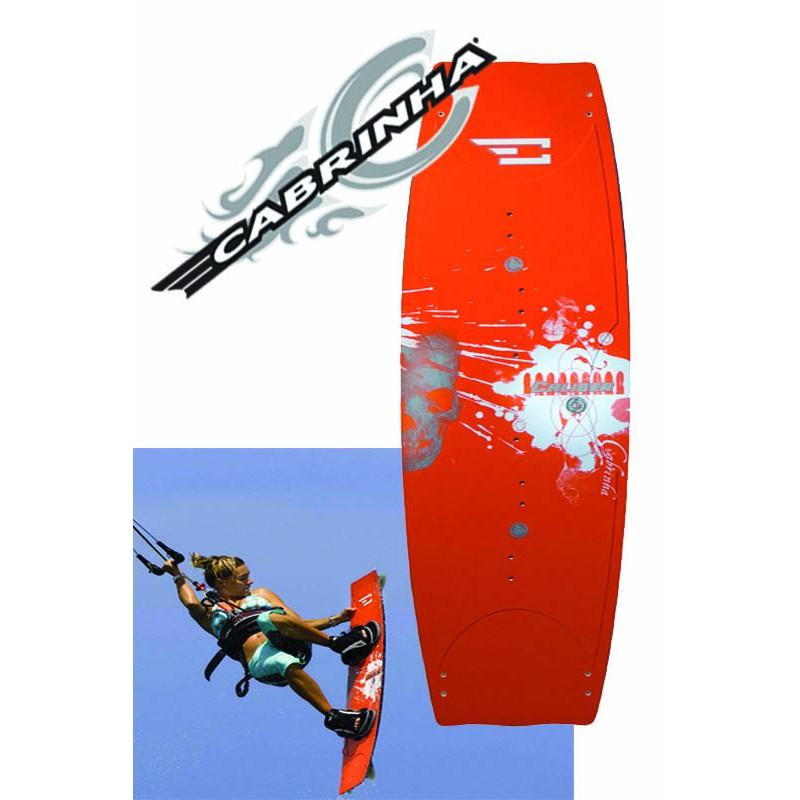 Cabrinha Kiteboard Caliber 136x42 mit Sync Bindung