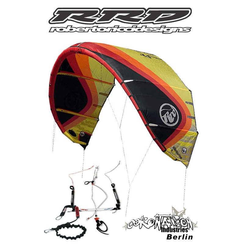 RRD Roberto Ricci Obsession SLE Hybrid Kite 5qm komplett