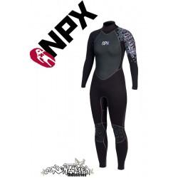 NPX Vamp Frauen Neoprenanzug Black Violet