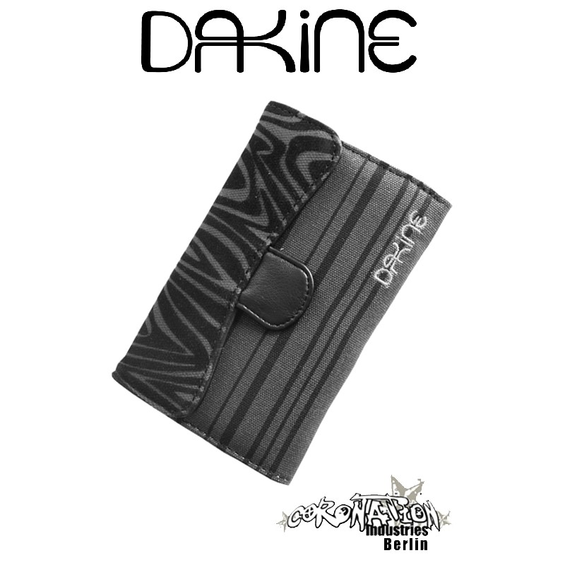 Dakine Wallet Lexi black pinestrip