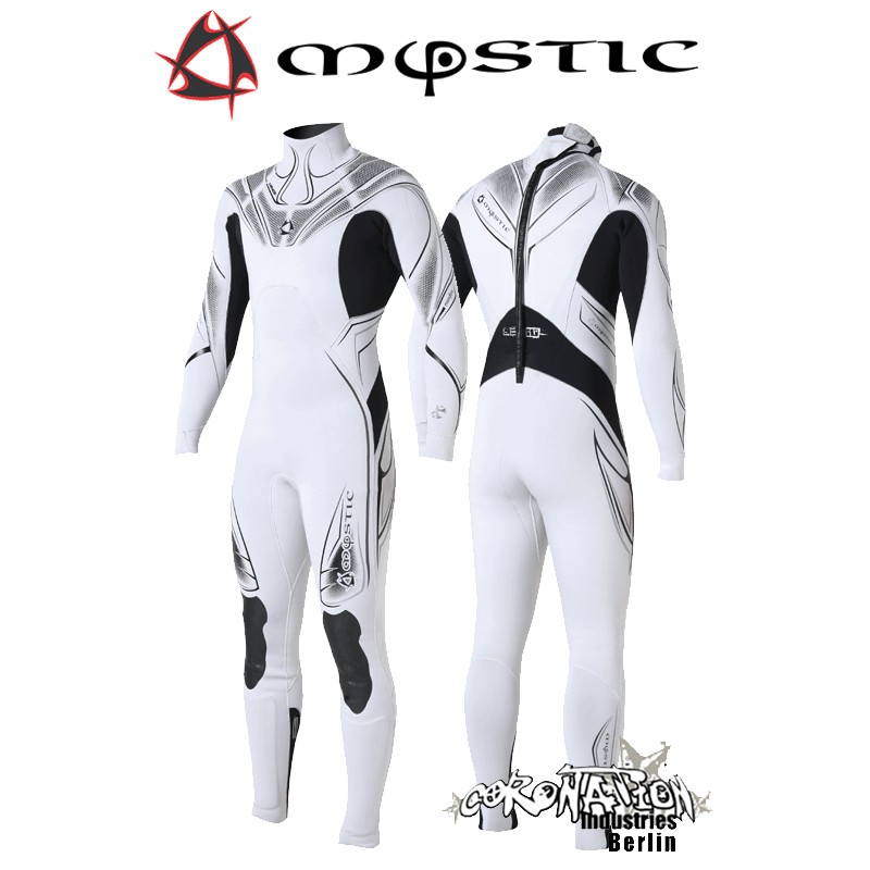 Mystic Neoprenanzug Crossfire Steamer 5/3 D/L Len10 White