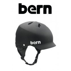 Bern Kite-Helm Watts mate Black