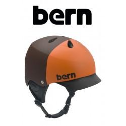 Bern Kite-Helm Watts mate Brown Hatstyle