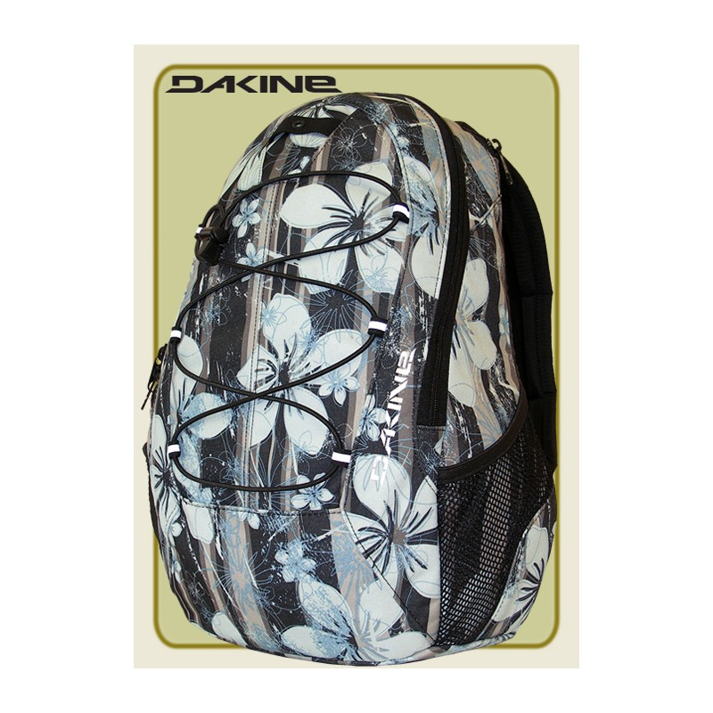 Dakine Transit Street- Fashion- Girl- Rucksack Allover black Str