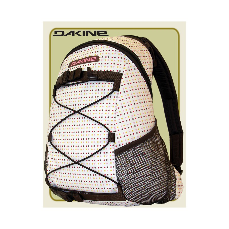 Dakine Wonder Street-Rucksack Allover white Summer-Dots