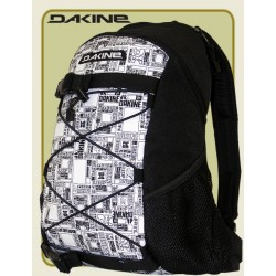 Dakine Wonder Street-Rucksack Allover black-white Box
