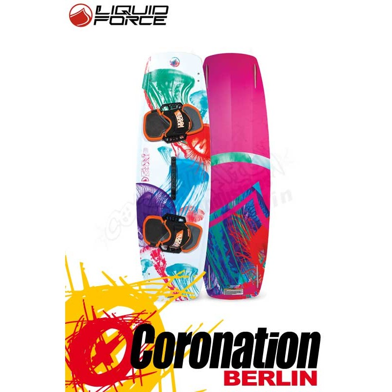 Liquid Force Bliss Kiteboard + FUSION pads and straps