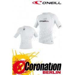 O'neill Skins Crew UV Protection White