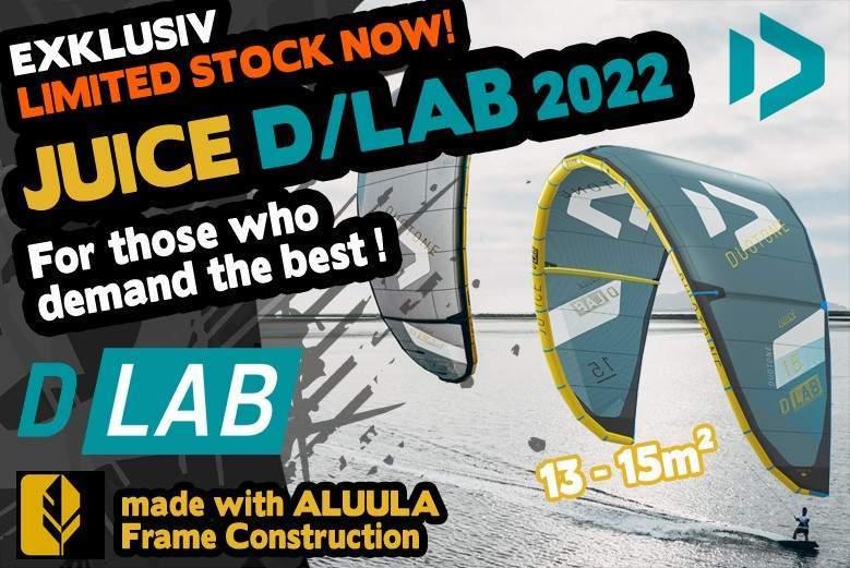 Duotone JUICE D-LAB 2022 Lightwind Kite Exclusive Stock