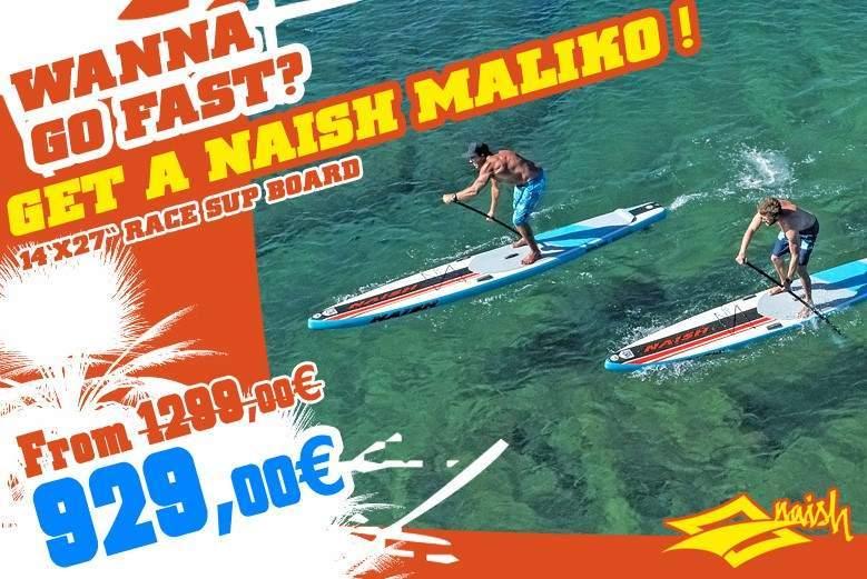 NAISH S25 Maliko Race Paddle Board SALE