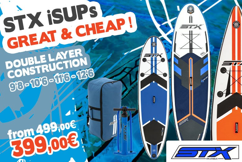 STX Inflatable Stand Up Paddle Boards - Spring Sales
