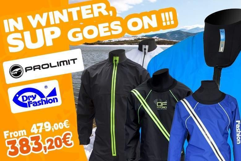 SUP Drysuits Winter 2020 : Dry Fashion SUP Advance, Prolimit Nordic