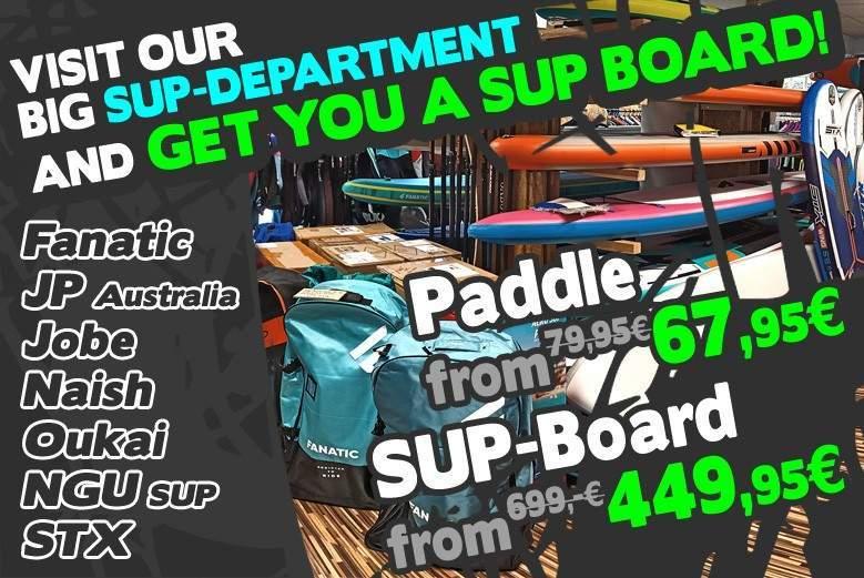 Découvrez notre rayon Stand Up Paddle et commandez facilement en ligne au meilleur prix chez Coronation SUP Shop Berlin