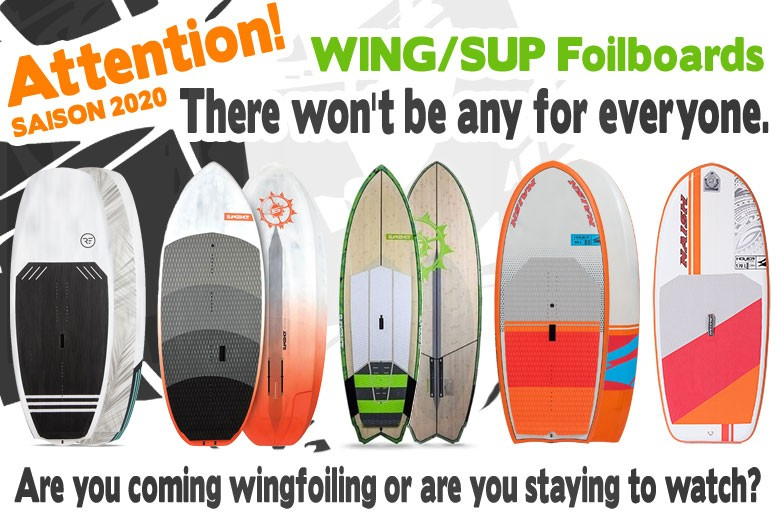 Wingfoilboards Lager Report - Es gibt nicht für jeden !