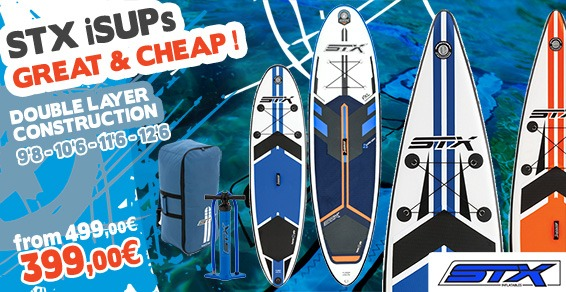 STX Inflatable Stand Up Paddle Boards - Frühlingsangebote