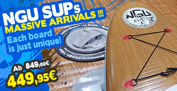 Arrivage NGU Stand Up Paddle !