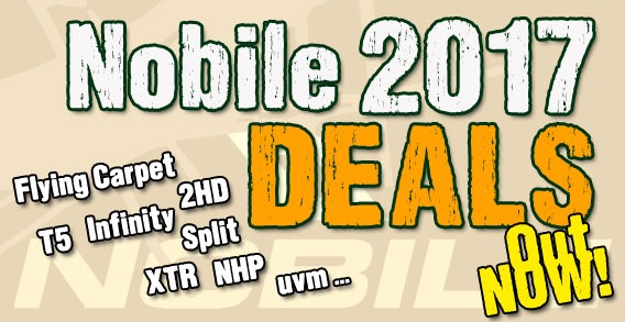 Nobile 2017 Super DEALS!